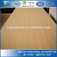 Gute Qualität Dekoration Teakholz Furniertes Sperrholz