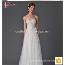 Novo modelo 2017 vestido de noiva com vestido de bola
