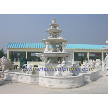 Stone Marble Carving Fountain for Garden Carved Fountain (SY-F220)
