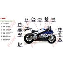 Piezas de la fibra de carbono de la motocicleta para BMW S1000rr 2015