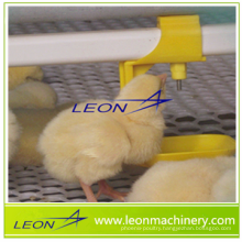 Automatic poultry nipple drinking line for broilers and breeders