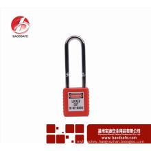 LOTO long steel shackle BDS-S8621 safety padlock Lock