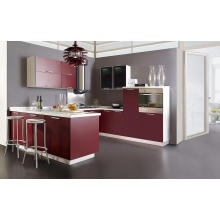 Modern Lacquer Kitchen Cabinet Made in China