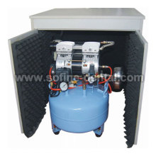 Silent Oilless Air Compressor (With Silent Cabinet and Air Dryer)
