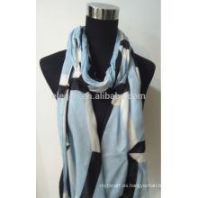 Bufanda teñida 100% del hilado del rayón