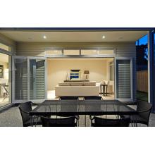 Janelas e portas de alumínio de vidro duplo simples e rápidas