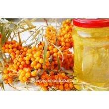Aceite de cuidado de piel puro 100% natural aceite de espino cerval de mar / extracto de espino cerval de mar
