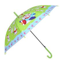 Abra el conejo verde que emite el paraguas verde de los niños (SK-02)