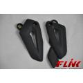 Carbon Fiber Heel Plates for Triumph Tiger 800