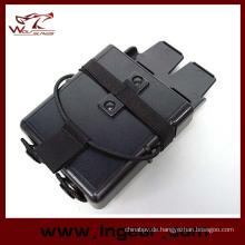 Airsoft Molle Fastmag M4 5,56 Magazin Clip Halter Tasche für Militär