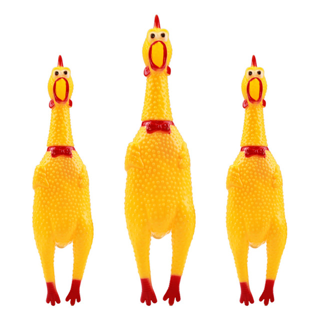 Petcircle Funny Dog Toys Rooster Crows Attract Puppy Dog And Cat Pet Squeak Toys Screaming Rubber Jpg 640x640