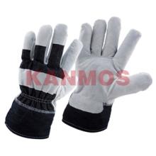 Синие джинсы Промышленная безопасность Теплые зимние рабочие перчатки (11304)