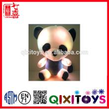 2016 nouveau design mini musique colorée LED peluche ours en peluche