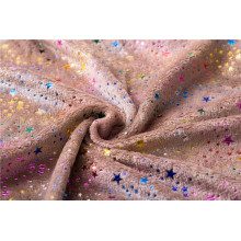 tissu de flanelle imprimé pur polyester