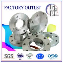 Usinagem CNC personalizada Forjado Flanges de aço inoxidável