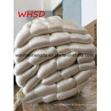 20 / 22D 27 / 29d 40 / 44D 100% de fil de soie de mûrier blanc cru