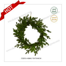 28′′ Plastic Artificial Wreath Christmas Decoration Gift Craft