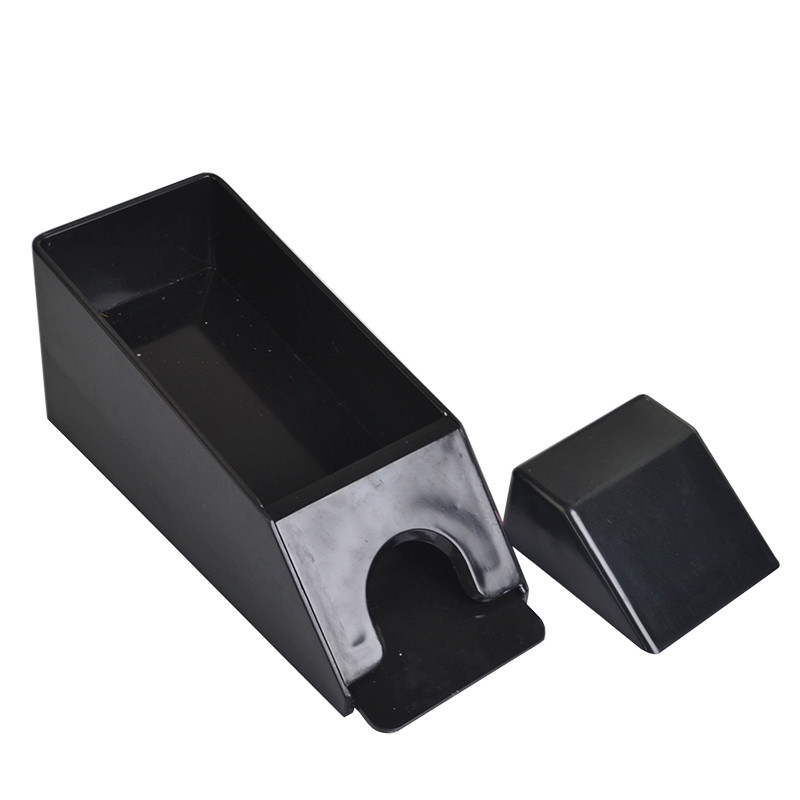 Acrylic Card Dealing Shoe Black