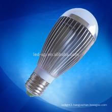 high lumen low decay led bulb 7w ra>80