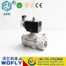 Válvula solenóide de aço inoxidável 5v dc