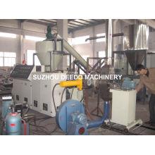 Machine de pelletisation de coupe chaude de PVC