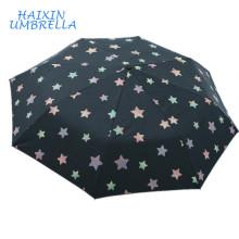 ОДМ новый продукт удивительно подгонять дизайн логотипа оптом дешевые складывая магические печати зонтик изменение цвета при Намокании
