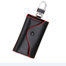 Sujetador de llave hecho de cuero genuino