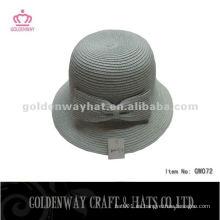 Sombreros de papel de moda con Bowknot GW072