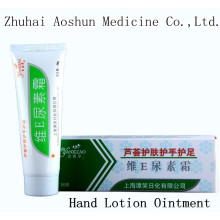 Vitamina E Urea Frost Médico Aleo Loción para la mano Ungüento