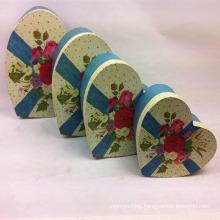 Love Rose Printing Paper Heart Gift Box