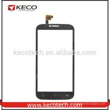Negro / Blanco pantalla táctil para Alcatel One Touch POP C9 OT7047 pantalla del teléfono