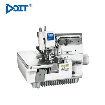 DT 700-02X250 2 Nadel 4 Faden Flachbett Tasche Nähen Overlock industrielle Maschine