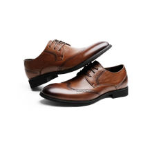 Sapatos de cano baixo masculino elegantes