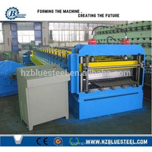Corrugated Color Coated Steel Roll Forming Machine/ Corrugated Color Steel Roofing Sheet Profile Roll Former Machine