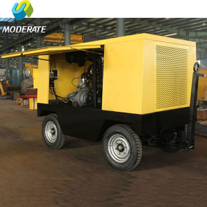194KW Moveable Diesel Power Screw Air Compressor