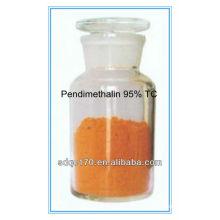 Dry field crops selective herbicide Pendimethalin 95%TC