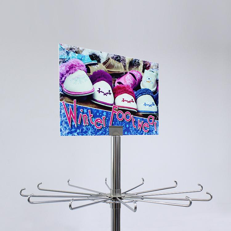 Metal Shoe Display Rack
