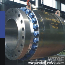 Forged Stainless Steel F304, F316, F304L, F316L Trunnion Ball Valve