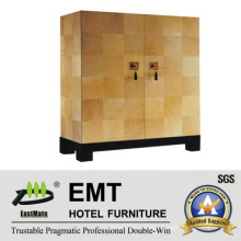 Armario decorativo suave ligero del color para la sala de estar del hotel (EMT-DC02)