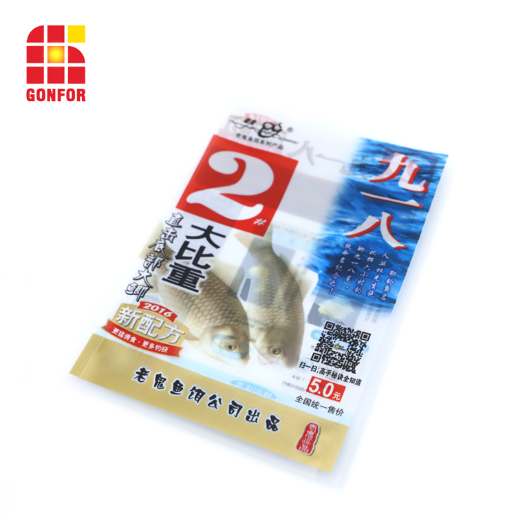 Plastic Packaging Bags For Fish Feed Baits 2