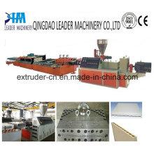 PVC WPC Wide Foam Door Plate Extrusion Line Plastic Machine