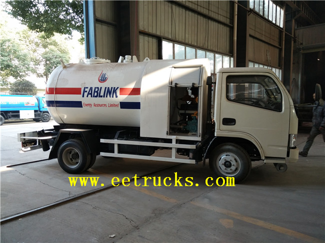 5000 Liters LPG Truck Tanks with Flow Meter