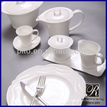 Vajilla de hotel de porcelana