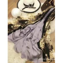 2017 Frühling / Sommer-neuer Entwurfs-moderner Schal-feste Farbe