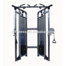 Nomes funcionais do equipamento do gym do instrutor / polia ajustável dupla
