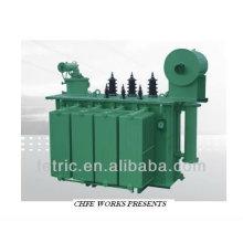 Three phase oil type transformer 100kva