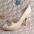 Wedopus Bridal Wedding Dress Shoes Hak Tinggi