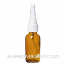 Nasal screw pump with amber glass bottles 2 OZ