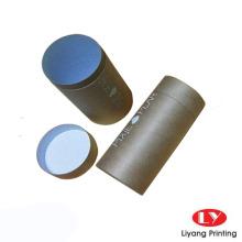 Verpackungsbox aus wiederverwertbarem braunem Kraftpapierrohr