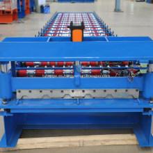 Máquina parcial para la fabricación de chapas de acero y zinc.